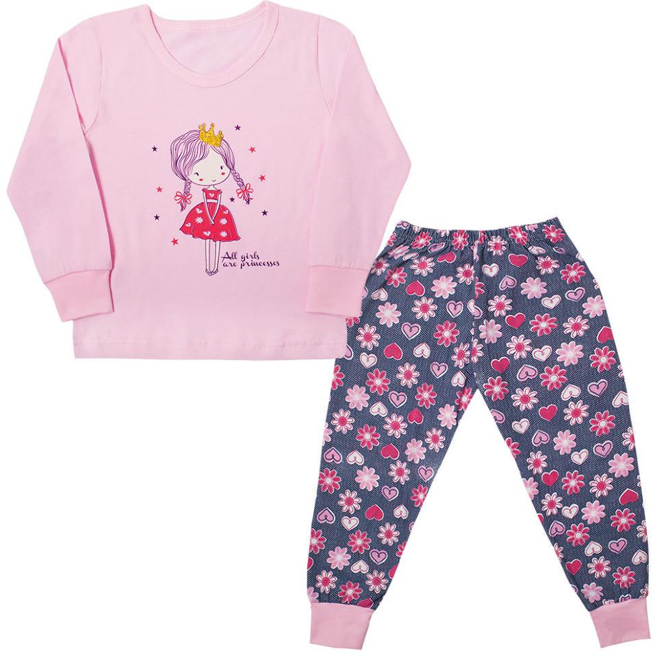 8cb28eab563d Детская пижама для девочки *Цветочная принцесса* - интернет магазин