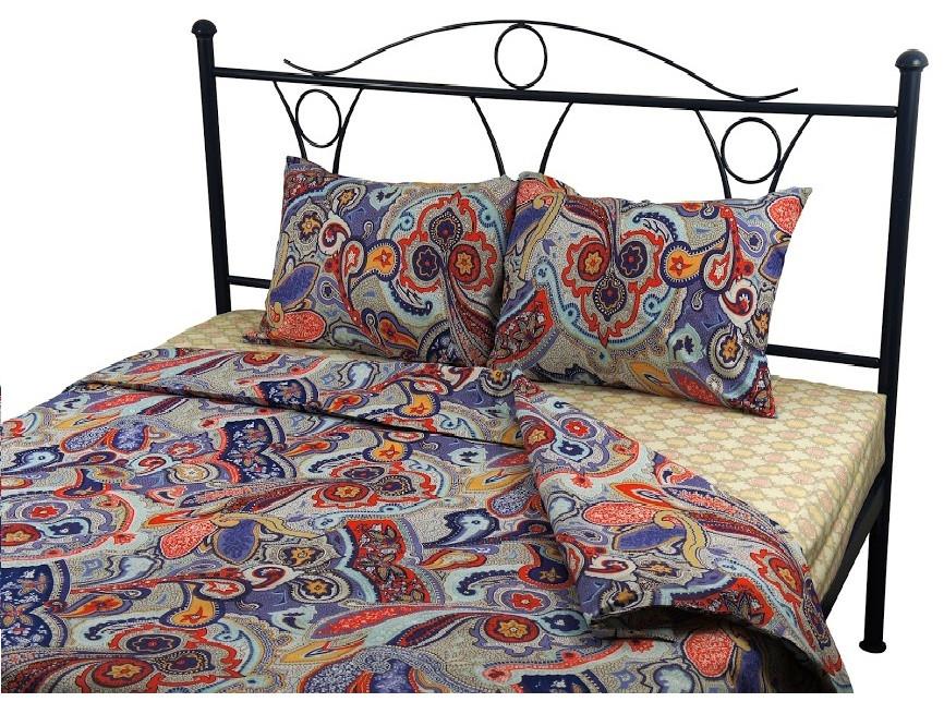 Комплект постельного белья полуторный РУНО 143х215 Бязь плотность 115гр/м.кв (1.116_Шахерезада)