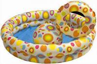 Бассейн веселые кольца Intex 59421 122x25 см от 3 лет Intex