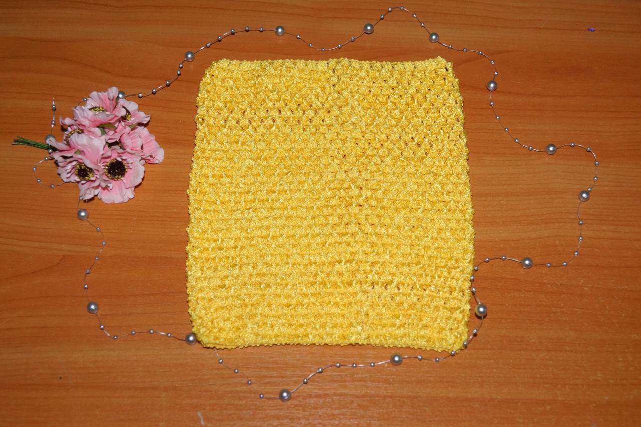 ТОП-сітка для плаття туту колір жовтий
