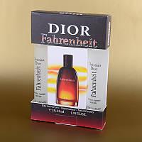 Мужской мини парфюм Fahrenheit Christian Dior в подарочной упаковке 2х35 мл ASL