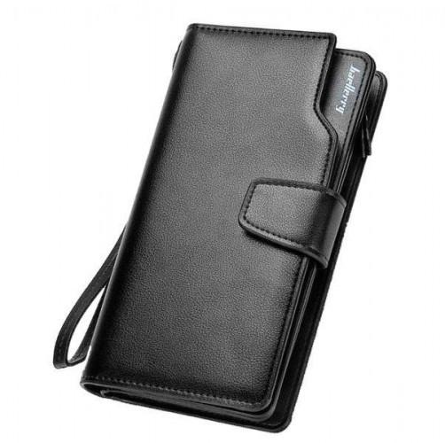 Кошелек мужской кожаный Baellerry Business S1063 Черный, коричневый