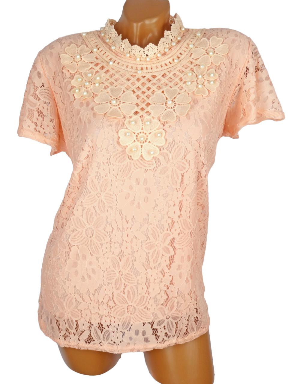 Женская блузка-футболка 48-50 (в расцветках)