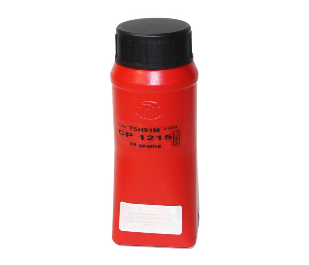 Тонер HP CLJ 1210/1215/1510/1515, CM1312, Canon LBP-5050, MF-8030, Magenta, 30 г, IPM (TSH91M)