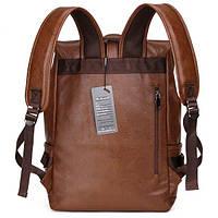 Городской мужской рюкзак городской,коричневый, фото 5