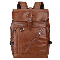 Городской мужской рюкзак городской,коричневый, фото 2