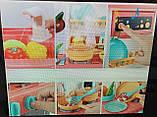 Ігрова дитяча кухня 889-154 рожева, вода , світло, звук, 38 предмета, фото 2