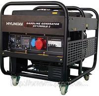 Бензиновый генератор Hyundai HY 12000LE + колеса