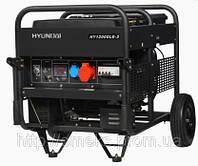 Генератор Hyundai HY 12000LE-3 + колеса