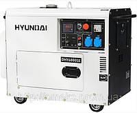 Дизельная электростанция Hyundai DHY 6000SE + колеса