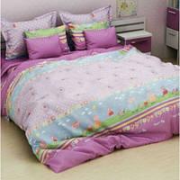 Комплект детского постельного белья Комфорт-текстиль Дружба розовый бязь