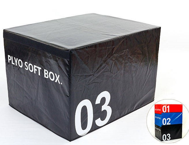 Бокс плиометрический мягкий FI-5334-3 SOFT PLYOMETRIC BOXES