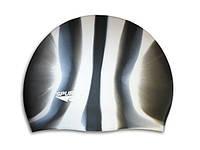 Шапочка для плавания Spurt силикон Zebra М12 (11-3-040)