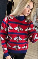 Красивый вязанный свитер женский GN-487