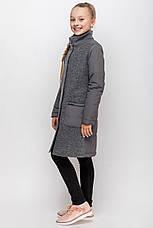 Детское пальто демисезонное для девочки vpd2 , размеры 134-164, фото 2