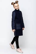 Детское пальто демисезонное для девочки vpd2 , размеры 134-164, фото 3