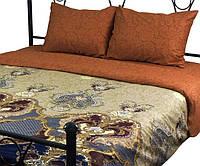 Комплект постельного белья полуторный РУНО 143х215 Сатин плотность  125гр м.кв (1.137А S28 e1b47996b7e23