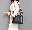 Сумка женская классическая Fashion Trend Черная, фото 7