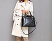 Сумка женская классическая Fashion Trend Черная, фото 6