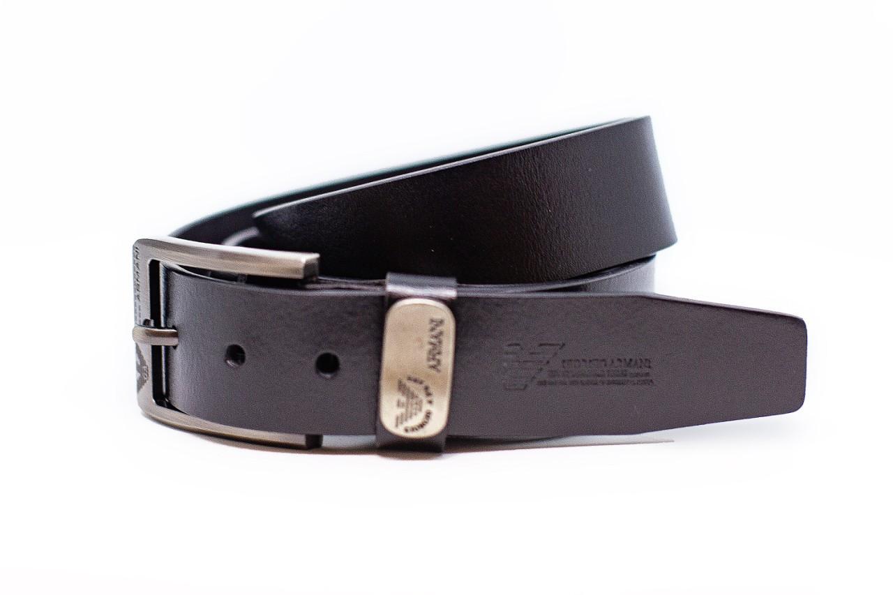 Ремень джинсовой Armani Ширина 40 мм Цвет черный ,кожаный
