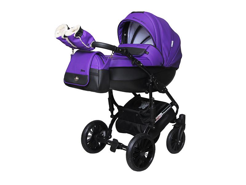 """Дитячі універсальна коляска 2 в 1 """"Phaeton black star Comfort"""" PBC - 17"""