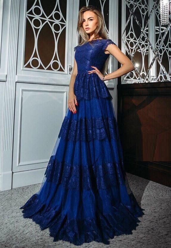 e793bfa986b48a6 Вечернее платье из кружева VK-H384, цена 1 782 грн., купить в Одессе —  Prom.ua (ID#886232210)
