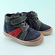 Детские ботинки мальчику весна осень кожа тм Том.м размер 22,27, фото 3