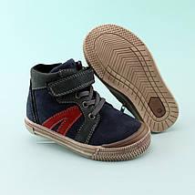 Детские ботинки мальчику весна осень кожа тм Том.м размер 22, фото 3