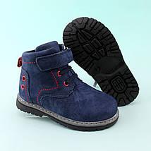 Детские ботинки демисезонные  мальчику (кожа) тм Том.м размер 21,22,25, фото 2