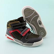 Детские ботинки  мальчику черные на липучках тм Томм размер 29,31, фото 3