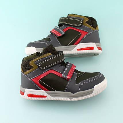 Детские ботинки  мальчику черные на липучках тм Томм размер 29,31, фото 2