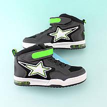 Детские ботинки  мальчику серые тм BiKi размер 29, фото 2