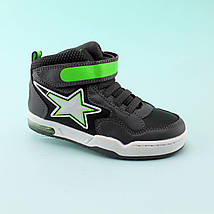 Детские ботинки  мальчику серые тм BiKi размер 29, фото 3