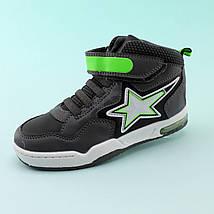 Детские ботинки  мальчику серые тм BiKi размер 28,29,30,31, фото 3