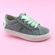 Детские слипоны кеды на девочку Атласные шнурки бренд обуви Том.м размер 25,28,29, фото 3