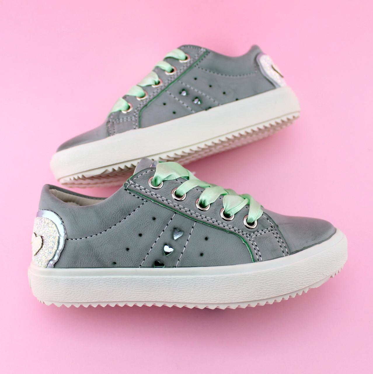Детские слипоны кеды на девочку Атласные шнурки бренд обуви Том.м размер 25,28,29