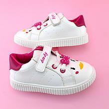 45bcacb8c Детские белые слипоны кроссовки для девочки тм Том.м размер 21,22,23