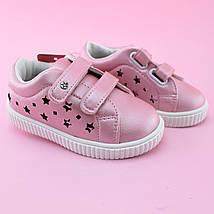 Детские кроссовки  розовые для девочки бренд Том.м размер 21, фото 3