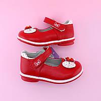 Детские красные туфли  девочке бренд TOMM размер 20,21,22