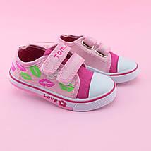 Детские кеды розовые девочке  серия детской обуви для спорта тм Том.м размер 22, фото 3