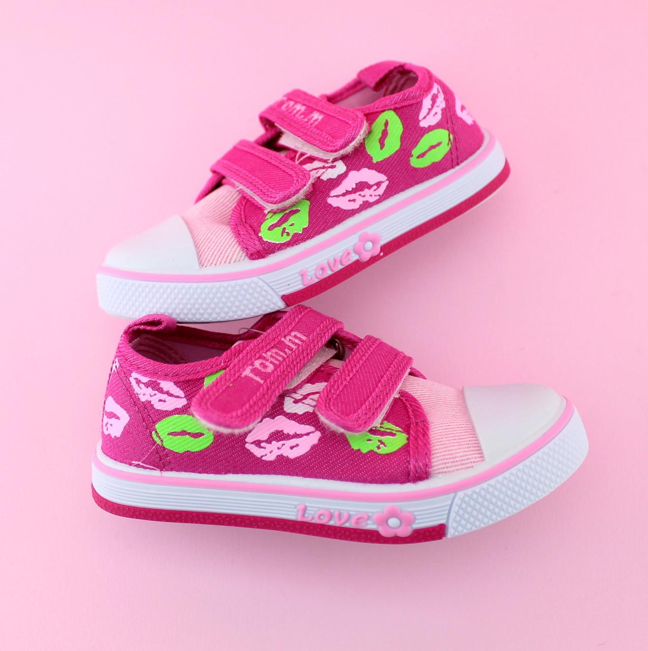 Детские кеды девочке серия обуви для спорта тм Том.м размер 21