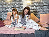 Фланелевая пижама Eirena Nadine (753-10) Звёздочки рост 110, белый цвет, фото 5