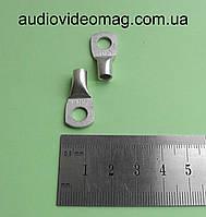 Наконечник кабельный SC 10 / 6 мм, медный, луженый, под опрессовку