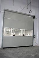 Прмышленные  скоростные рулонные и секционные  ворота