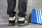 Мужские кроссовки Adidas Iniki (черные), фото 4