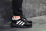 Мужские кроссовки Adidas Iniki (черные), фото 5