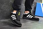 Мужские кроссовки Adidas Iniki (черные), фото 2