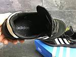 Мужские кроссовки Adidas Iniki (черные), фото 6