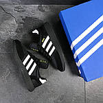 Мужские кроссовки Adidas Iniki (черные), фото 7