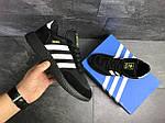 Мужские кроссовки Adidas Iniki (черные), фото 3